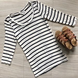 Tops - Cabi Striped Playtime Tee